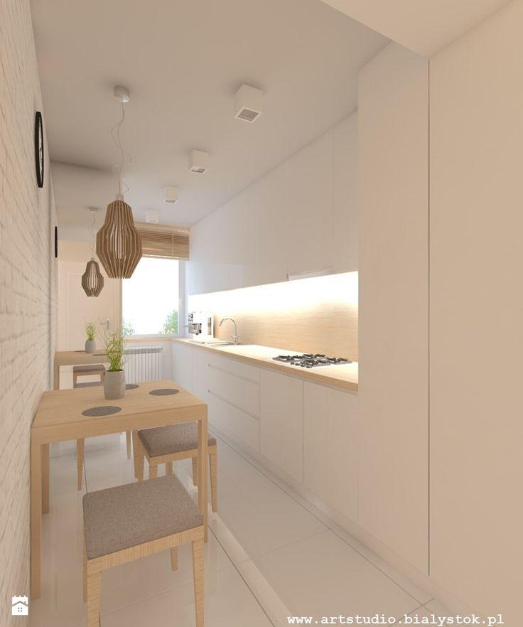 Kuchnia styl Skandynawski - zdjęcie od Art Studio Pracownia Architektury i Wnetrz - Kuchnia - Styl Skandynawski - Art Studio Pracownia Architektury i Wnetrz