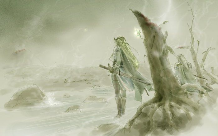 'The Silvan Elves were hardy and valiant, but ill-equipped with armour or weapons in comparison with the Eldar of the West; also they were independent, and not disposed to place themselves under the supreme command of Gil-galad. Their losses were thus more grievous than they need have been, even in that terrible war…' - History of Galadriel and Celeborn, Unfinished Tales.