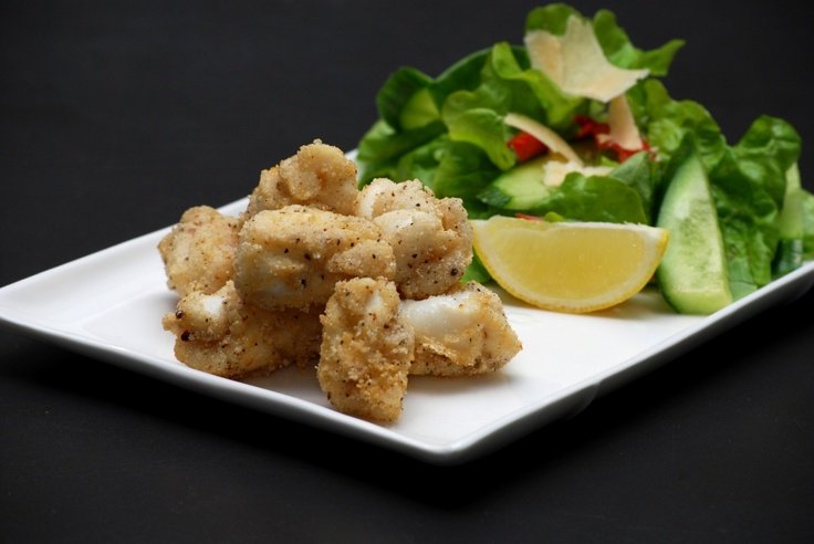 Thermomix - salt and pepper squid