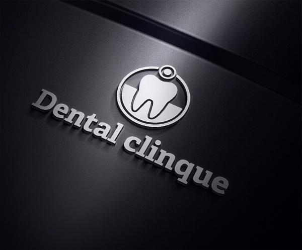 Dental Clinique Logo Template by Ramzi Hachicho, via Behance