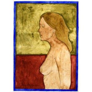 "Barcelona Art Market ""No title""  Technique: WATERCOLOR on paper. Artist: RAMÓN HERREROS Size: paper 38,5 x 29 cm - 15.2 x 11.4 inches / painting: 26 x 19 cm - 10.2 x 7.5 inches #painting"