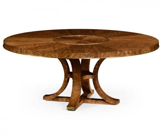 hyedua wood circular dining table