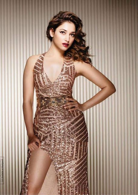 Tamanna Bhatia Hot Photoshoot For JFW Magazine