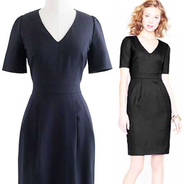 J Crew Super 120s Memo Dress Products Pinterest Products - formal memo