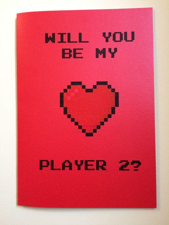 77 best Valentines day ideas images – Legend of Zelda Valentine Card