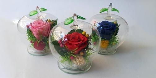 Apple Preserved Flower RM 69.90 *exclude postage*