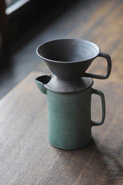 Coffee filter pot