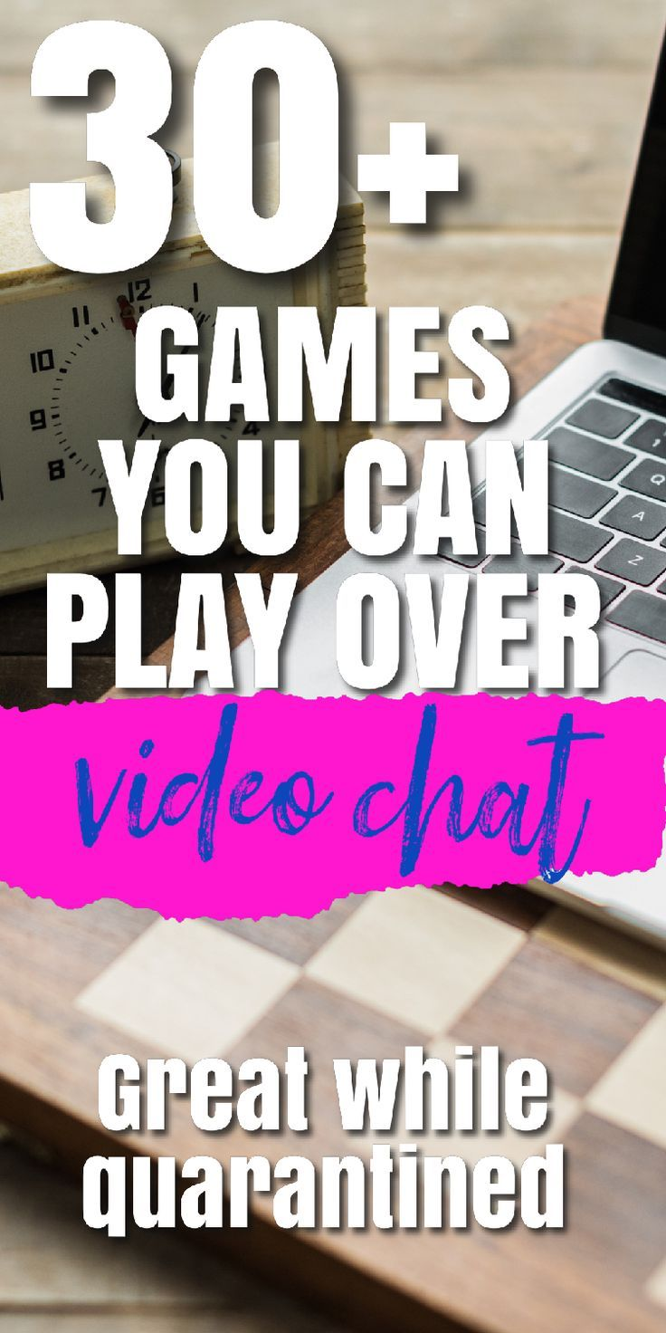 30 Games You Can Play On Facetime And Zoom For All Ages Family Games To Play Family Games Games To Play With Kids