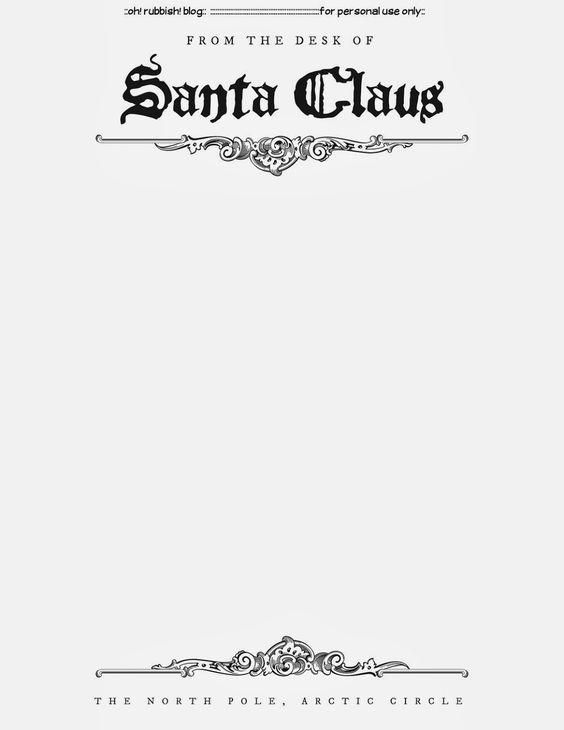 Best 25+ Santa letter template ideas on Pinterest Letter to - santa letter template