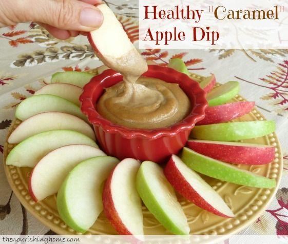 "Healthy ""Caramel"" Apple Dip (GF, DF)"