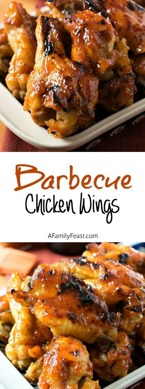 This classic and delicious Barbecue Chicken Wings recipe can be made in the oven or outside on the grill. Guaranteed to become your go-to recipe!