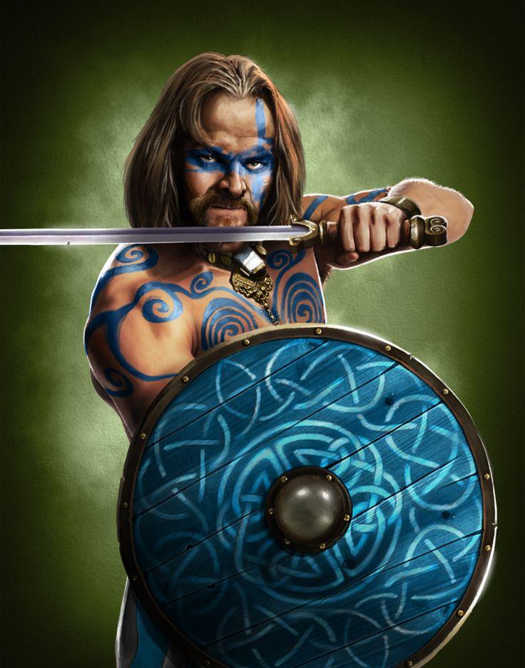 celtic warrior woad - Google-Suche