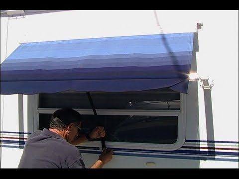 RV Window Awnings Provide Privacy And Shade Watch Our Step By Guide To Awning Installation