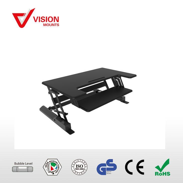 High Quality Laptop sit stand workstation VM-LD02-B B-02