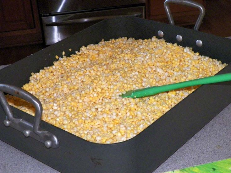 A unique method and recipe for freezing sweet corn! I have been freezing corn like this for years. This is a recipe I found in my Grandmother's recipe box. This is just so good! I have a hard ti...