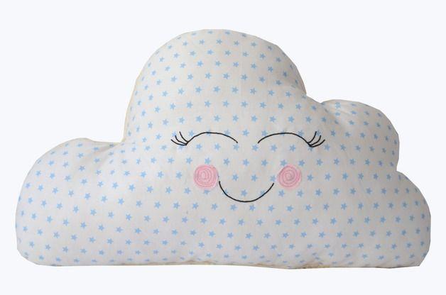 Kissen - Kinderkissen, Kuschelwolke - ein Designerstück von na-ni-lu bei DaWanda