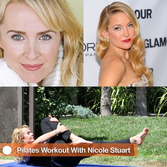 An Ab-Sculpting Pilates Workout With Nicole Stuart - www.fitsugar.com: Pilates Workout From, Fitness Abs, Abs Workout, Trainer Nicole, Ab Challenge, Workout From Nicole Winter, Ab Workouts, Nicole Stuart, Ab Sculpting Pilates