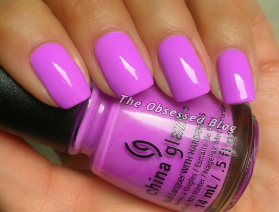 @China Glaze  China Glaze That's Shore Bright from the Sunsational Collection