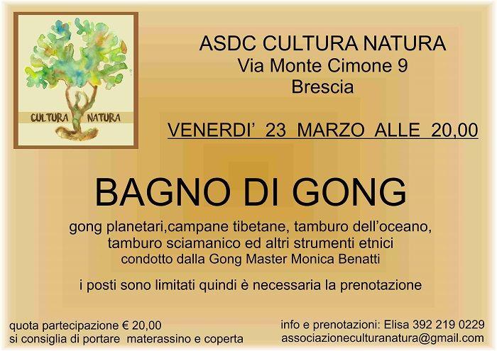 Brescia Da Cultura Natura Un Bagno Di Gong Cultura Natura E Bagno