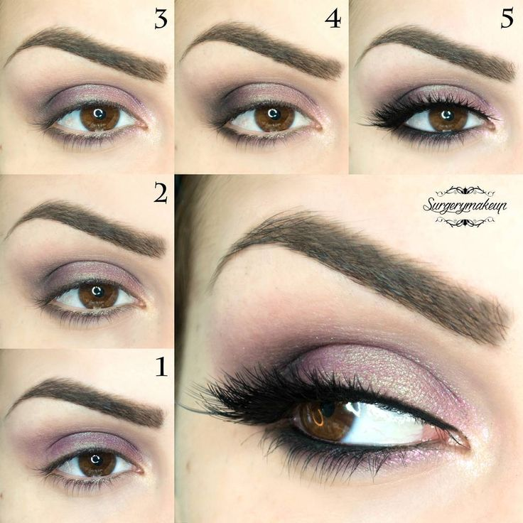 Easy tutorial to create this romantic eye make up.