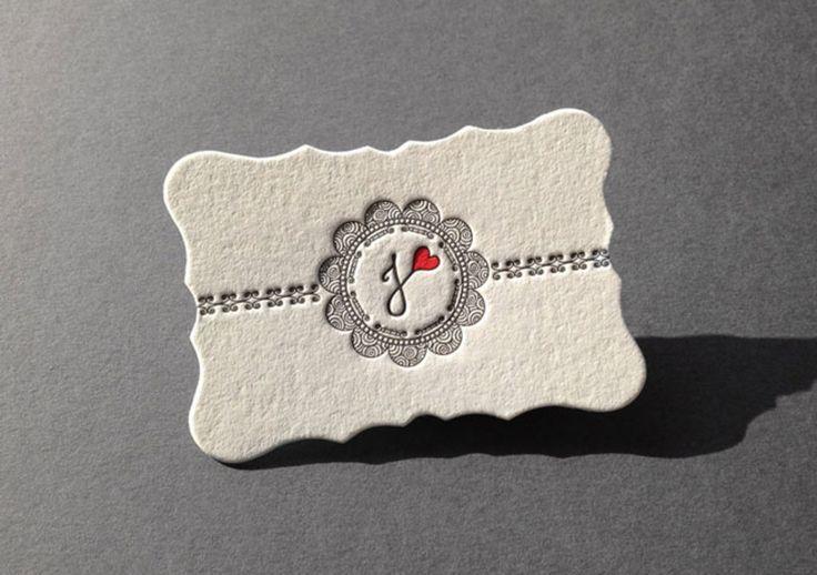 Unique Letterpress Business Cards | UltraLinx