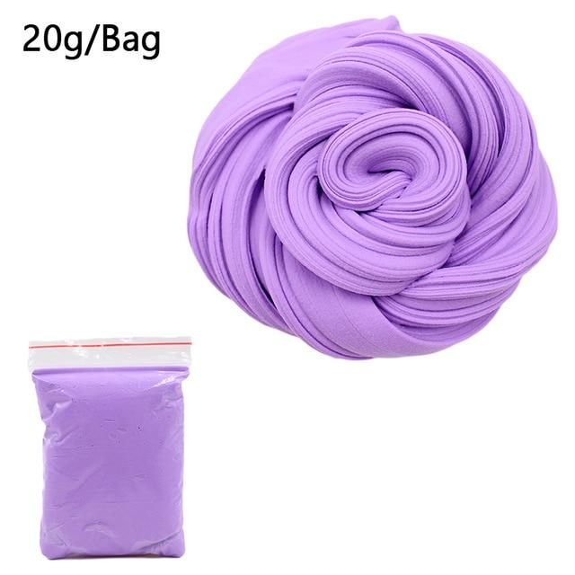 Slime charms Foam Slime Clay Ball Supplies Light Soft Cotton Charms Slime Fruit Kit Cloud Craft Kids Toys for Children 1
