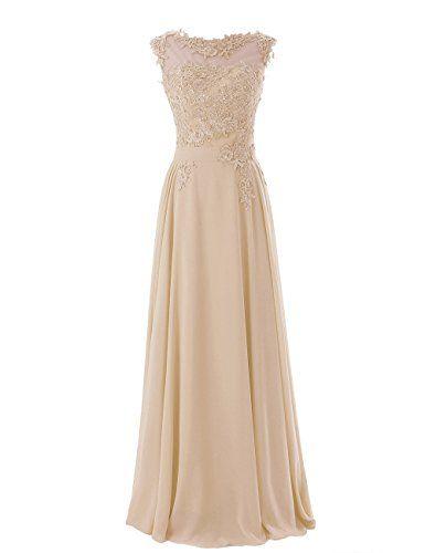 Diyouth Scoop Appliques Long Chiffon Prom Dress Champagne Size 6 Diyouth http://www.amazon.com/dp/B00LQMNXT6/ref=cm_sw_r_pi_dp_RjGdub1HC6HQ5