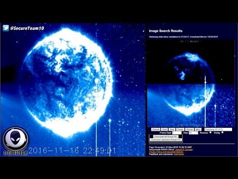 GIANT Alien Object On NASA Satellite Imagery? 11/21/16 https://youtu.be/BWBXLXlvrp8 via @YouTube
