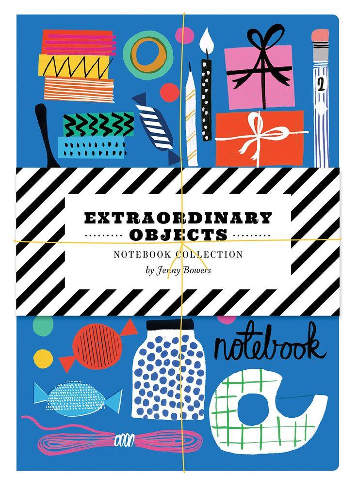 Extraordinary Objects Notebook Collection: Jenny Bowers: 9781452137315: Amazon.com: Books