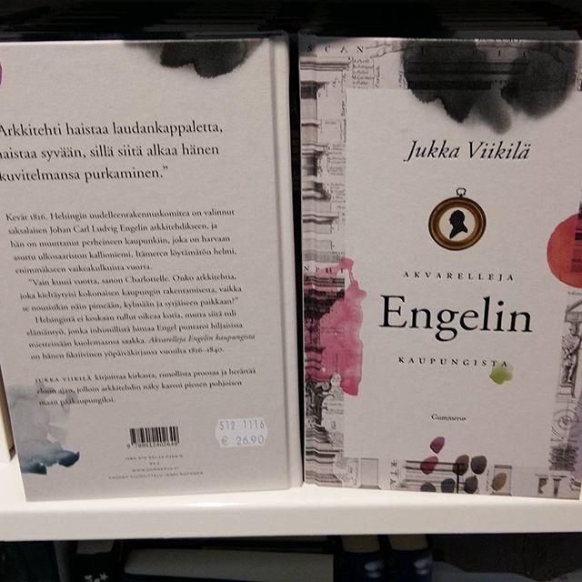 KULTTUURI UUTISIA. TV. MUSIIKKI.  KIRJAT. KATSO BLOGI 5.12.2016.infoa ... FINLANDIA PALKINTO VOITTAJAT 2016, Kaunokirjallisuus Jukka VIIKKILÄ; Akvrallejä Engelin Kuapungissa. 6 FINALISTI KIRJAA. ONNEKSI Olkoon, Menestystä tulevalle Elämälle. SEURAAN, tykkään. SUOSITTELEN LUKEMISTA kaikille. Lahja vinkki...HYMY  @ylehelsinki @kirjasaatio.fi #kulttuuri #tv #uutiset #ajankohtaista #kirjallisuus #kirjat #lukeminen #joulu #vinkki #lahja #palkinto #kilpailu #finlandia2016 👌❤👀☺😉🎅#blogi