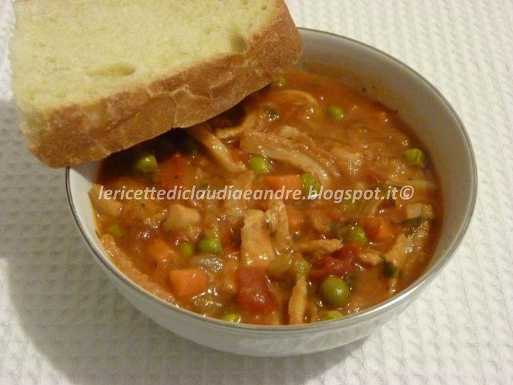 Le    ricette    di    Claudia  &   Andre : Trippa in umido con misto di verdure