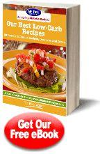 Our Best Low-Carb Recipes: 30 Low-Carb Dinner Recipes, Desserts, and More   EverydayDiabeticRecipes.com