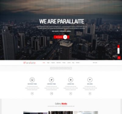 http://templatemesh.com/joomla-templates/parallaite  Parallaite – is clean Multipurpose Joomla Template. It is great, professional, clean and modern Joomla 3.x template and easy to use template. You can use it for, business, Photo Studio, Freelancers, Portfolio Theme, Creative Agency, Corporate Websites etc. It is fully responsive and offers unlimited color variations, Google Fonts and more features. It is built on the well-known Helix Framework. It comes with 8 preset variations.