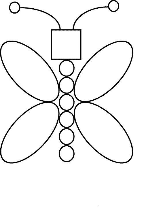 Actividades para niños preescolar, primaria e inicial. Imprimir plantillas con formas geometricas para niños de preescolar y primaria. Formas Geometricas. 72