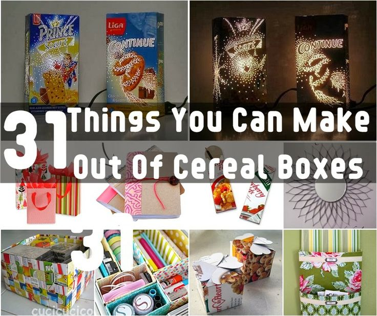 14 Best Cereal Box Ideas Images On Pinterest