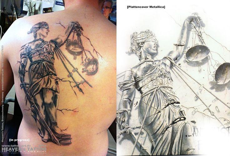 Metallica tattoo art for Metallica sleeve tattoo