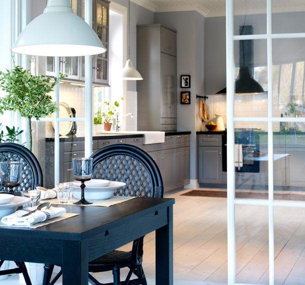 Matplats matplats ikea : Matplats i förgrunden och köket i bakgrunden | Kjøkken | Pinterest