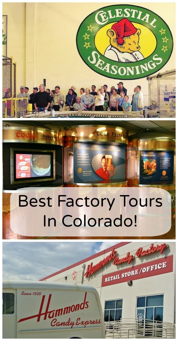 Factory Tours in Denver Colorado - From popular brewery tours to candy factories, Colorado offers more than a couple of industrial type touristy activities. Repin if you have ever been on one of these tours! www.automatedhomefinder.com #Denver #Colorado