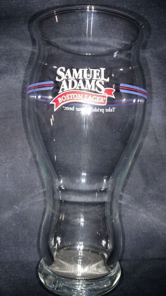 Samuel Adams Boston Lager Glasses Set of 4