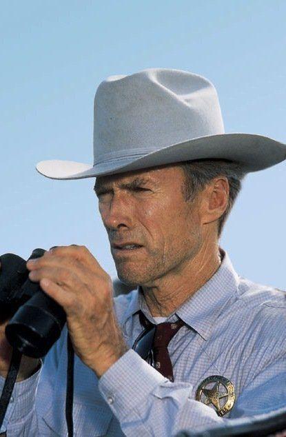 Clint Eastwood as Texas Ranger Red Garnett  in A Perfect World
