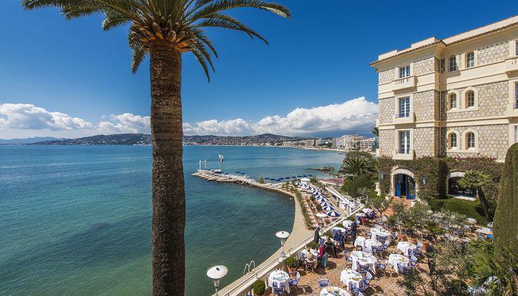 L'Hôtel : Les Lieux - Hotel Belles Rives : Antibes, Juan les Pins. One of my favourite wedding venues on the Riviera.