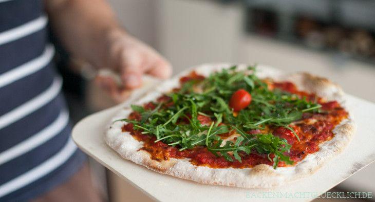 Backen macht glücklich | Test: Pizzastein für den Backofen | http://www.backenmachtgluecklich.de
