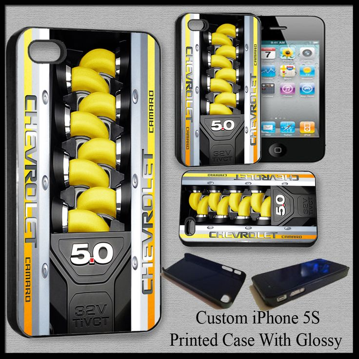 Design Custom Chevrolet Camaro Cover Case For Iphone 5S Nice Fit For Gift