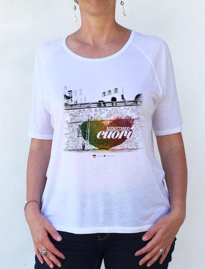 T-shirt Aggiustando cuori e... due storie che vi voglio raccontare!