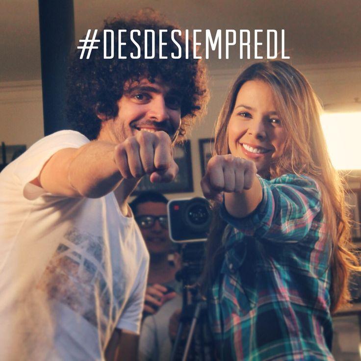 De frente por los sueños!! #DesdeSiempreDL! #DanielLema