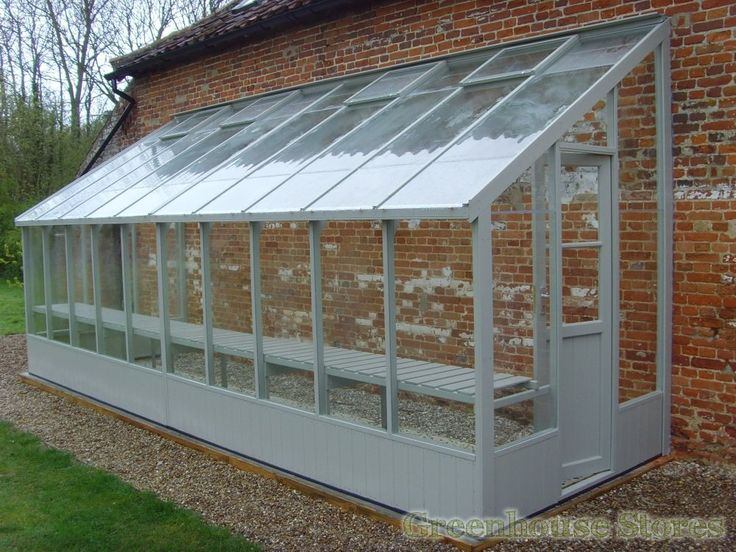 Swallow Dove 6x20 Lean to Greenhouse | Greenhouse Stores