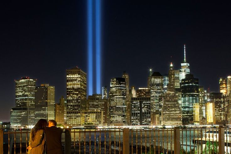 Yearly 9/11 Tribute Shows Light Pollution's Effects on Birds - The New York Times