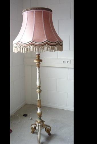 Roze lampenkap - Vis Biss