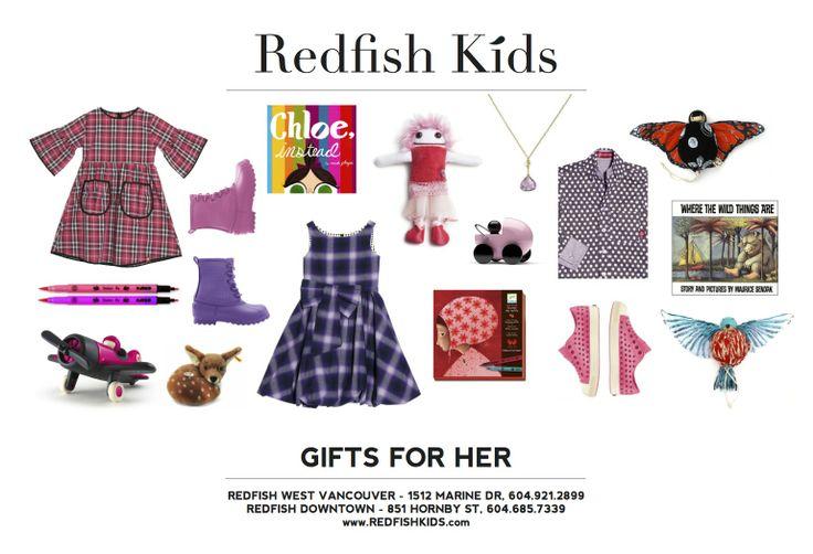 Gifts for Girls www.redfishkids.com