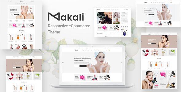 Makali Multipurpose Html Template Prestashop Themes Ecommerce Themes Wordpress Theme Responsive